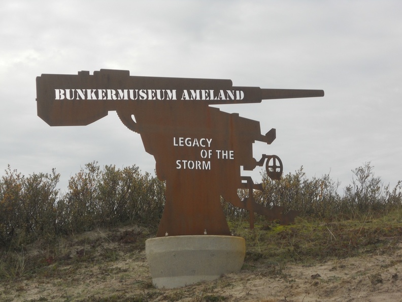 Bunkermuseum Ameland, Legacy of the storm