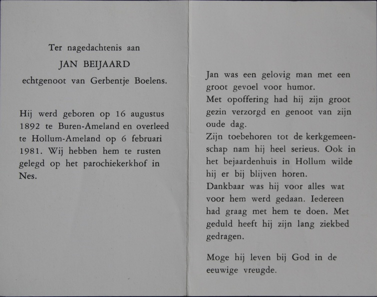 Jan Beijaard (1892-1981)