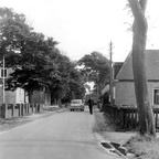 De Schoolstraat in Hollum ca. 1965